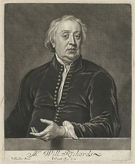William Richards (priest) English clergyman, nonjuror and author.