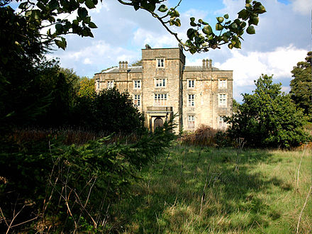 Winstanley Hall, a Tudor house, is also a Grade II* listed building Winstanley Hall 2006.jpg