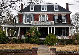 National Register of Historic Places listings in Bedford County, Tennessee - Image: Winston Evans House