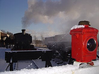 Mid-Suffolk Light Railway - The Middy in winter