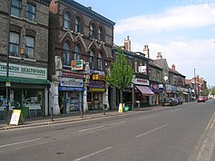 Withington village centre