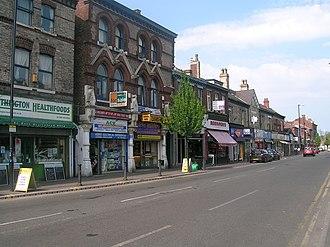 Withington - Image: Withington centre