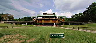 Wolf Trap National Park for the Performing Arts - View of venue from lawn area (c.2006)