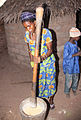 Women take care of eating at a tribe in Gambia.jpg