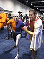 WonderCon 2014 - Metamorpho and Captain Marvel (Shazam) cosplay (13931850021).jpg