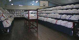 Northern Tablelands - Wool display, Walcha show.