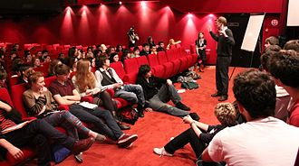 ÉCU The European Independent Film Festival - Workshops are held at every festival edition.