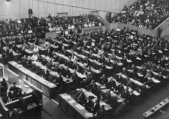 World Jewish Congress - World Jewish Congress in Geneva 1953