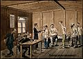 "World War One; British prisoners of war being examined for "" Wellcome V0015685.jpg"
