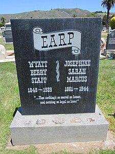Wyatt & Josephine Earp grave