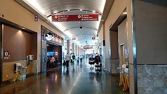 Northwest Arkansas Regional Airport - Terminal view