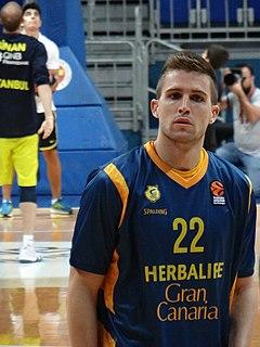 Spanish professional basketball player