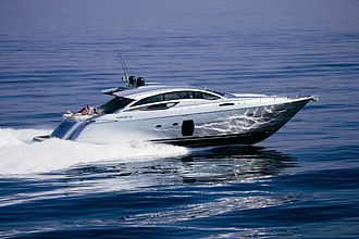 Boot Düsseldorf - the Pershing 72, European Powerboat of the Year 2008 in the category 50 feet and over