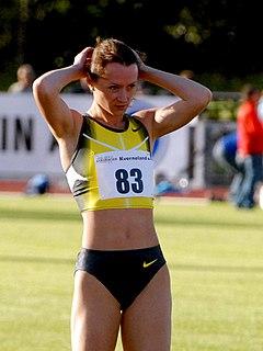 Yelena Slesarenko Russian high jumper