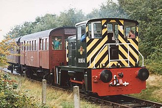 British Rail Class 02 - D2854 on the Middleton Railway in 1994