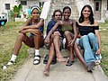 Young People in Miramar - Havana - Cuba.jpg