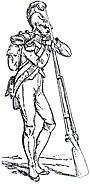 Zappatore-minatore della Vecchia Guardia Adolphe de Chesnel