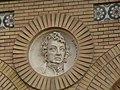 Zaragoza - Antigua Facultad de Medicina - Medallón - Ampere.jpg