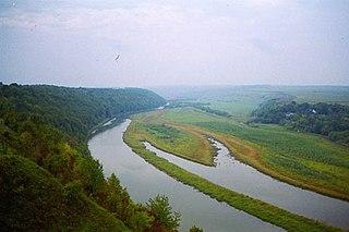 Zbruch River river in Ukraine