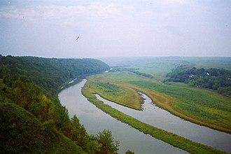 Zbruch River - Image: Zbrucz