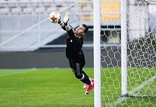 Dominik Greif Slovak football goalkeeper