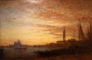 Venise, crépuscule