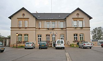 Zoufftgen - The mairie (town hall) in Zoufftgen