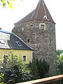 Zwettl, Lower Austria. Der Antonturm. A Hexagon tower on the Town Walls.JPG