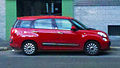 """14 - ITALY - Fiat 500 L living (5+2 seats) license plate of Italy facing right profile side.jpg"