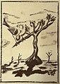 """""""Der Zilpzalp des Winzers Weidle"""" Zeichnung von Georg Lang (1884-1944).jpg"""