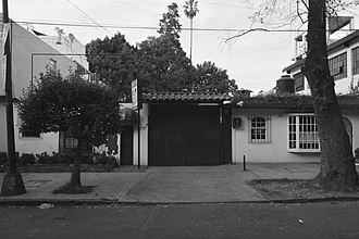 Roma (2018 film) - Kinder Condesa at 105 Tlaxcala street, Colonia Roma