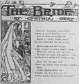 """The Bride"" (illustrated poem, 1904).jpg"