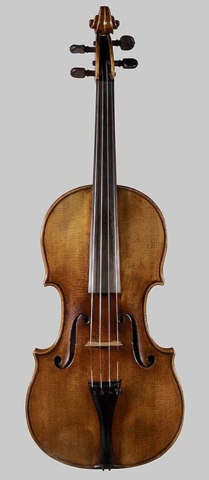 "Stradivarius - Image: ""The Francesca"" Violin MET DP34.86.2"