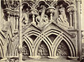 """The Last Judgment."" Niche Sculptures, Wells Cathedral West Façade (3610680631).jpg"