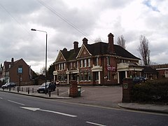 """The Yacht"", Long Lane, Bexleyheath - geograph.org.uk - 148946.jpg"