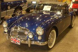 '61 MGA (Auto classique).JPG