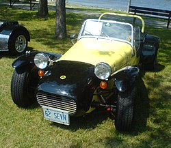 1962 Lotus Seven (North America)
