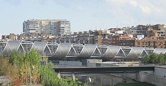Comillas (Madrid) - Image: (Comillas) Manzanares River, public park (6382184389) (cropped)