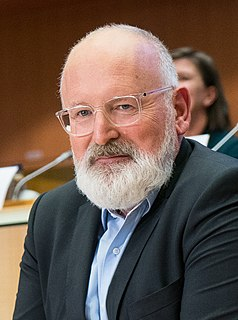 Frans Timmermans Vice-President of the European Commission
