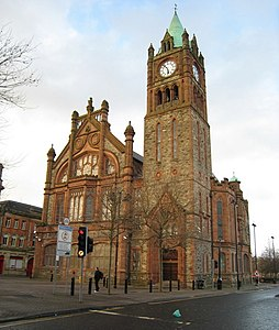 (London)Derry Guildhall - geograph.org.uk - 746449.jpg