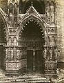 Édouard Baldus - Amiens Cathedral (Porte de la Vierge) - Google Art Project.jpg