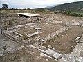 Περίκεντρος Ναός (Ροτόντα) Παλαιοχριστιανική Αμφίπολη, Αίθριο από Ν προς Β.jpg