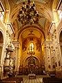 Інтер'єр церкви Василіянського монастиря, Бучач 1.jpg