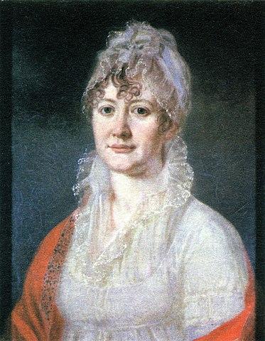 Елизавета Алексеевна Арсеньева (1773—1845гг.), бабушка М.Ю.Лермонтова