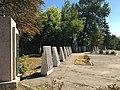 Братська могила радянських воїнів та пам'ятник воїнам - односельцям. Поховано 41 чол., смт. Кушугум.jpg