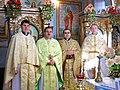 Жнибороди - Церква Святого Архистратига Михаїла - Священники після святкової літургії - 10112443.jpg