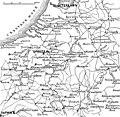 Карта № 1 к статье «Коалиционные войны». Военная энциклопедия Сытина (Санкт-Петербург, 1911-1915).jpg