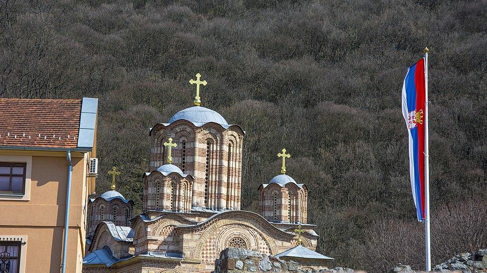 Купола манастира Раваница