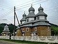 Лопушна Церква Варвари та дзвіниця.jpg