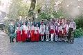Одеса. Міжнародна педагогічна конференція. Делегація Адамівської школи козацько-лицарського виховання.jpg